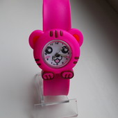 Часы на гибком браслете Тигренок