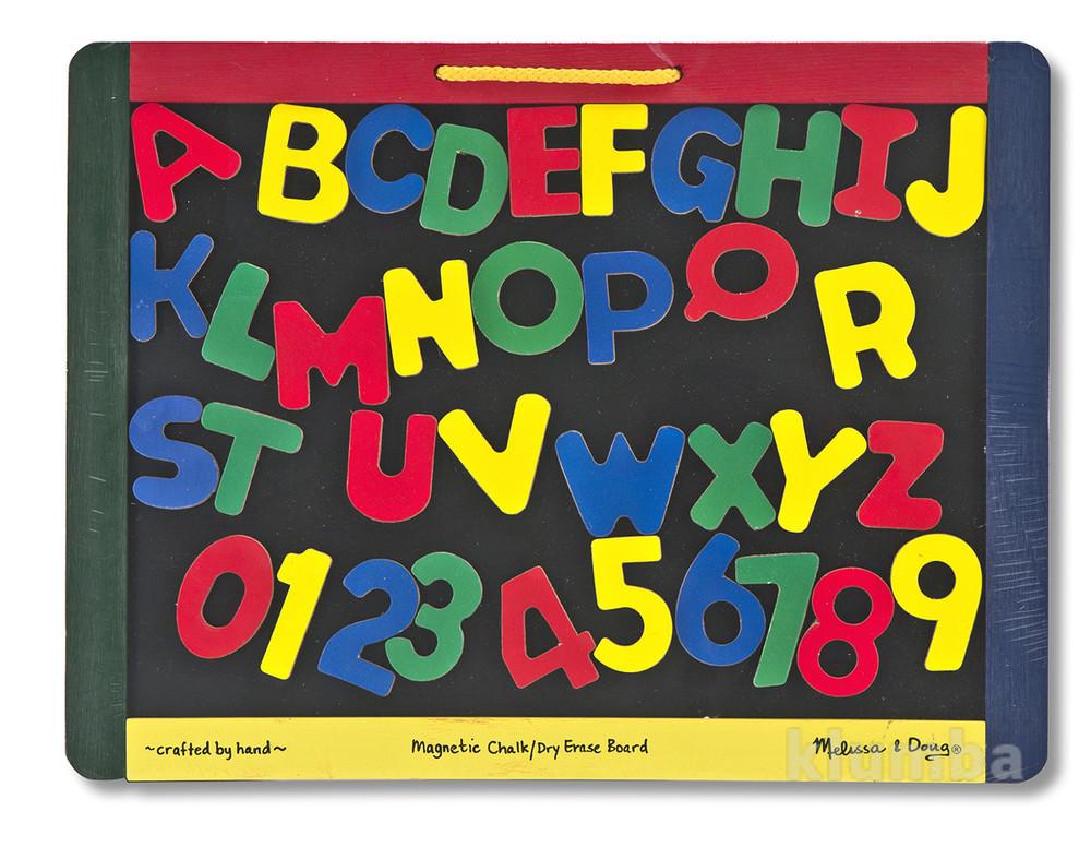 Игрушки для развития творчества, доска из дерева с магнитной стороной фото №1