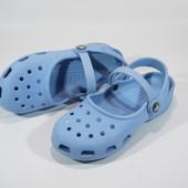 Сабо-сандалі Crocs (22.5см) Оригінал..джибітс у подарунок