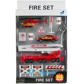 Распродажа - Набор игровой Пожарная, полицейская  служба (11 элементов)