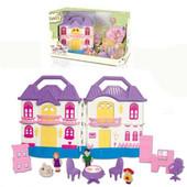 Кукольный дом 6607 с куклами, мебелью