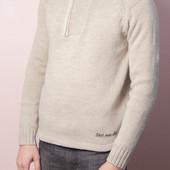 Светлый свитер Skill, р.S