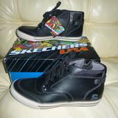 Брендовые ботинки натуральная кожа 39,5 размер Skechers оригинал без торга