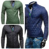 куртка мужская стеганая весенняя