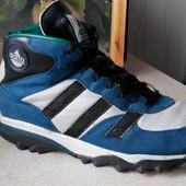 № 2023 Ботинки vintage Adidas Sawtooth  adiTEX 44 кожа ,кроссовки torsion , equipment