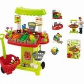 Детский овощной киоск Chef-Cook с тележкой (001744)