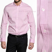 Хлопковая мужская рубашка Incity. Отличное качество. Розовая.