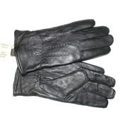 Перчатки кожаные мужские Romania утепленные
