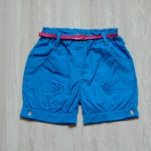 Яркие летние шортики для девочки. Поясок в комплекте. Kool Look. Размер на бирке 8 лет, можно раньше