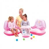 Надувная детская мебель Принцессы