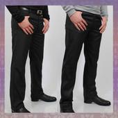 Новинка! Классические утепленные зимние брюки с джинсовым кроем. 2 цвета. 30-38р'