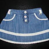 классная юбка F&F 1-1,5 года (можно до 2) состояние новой