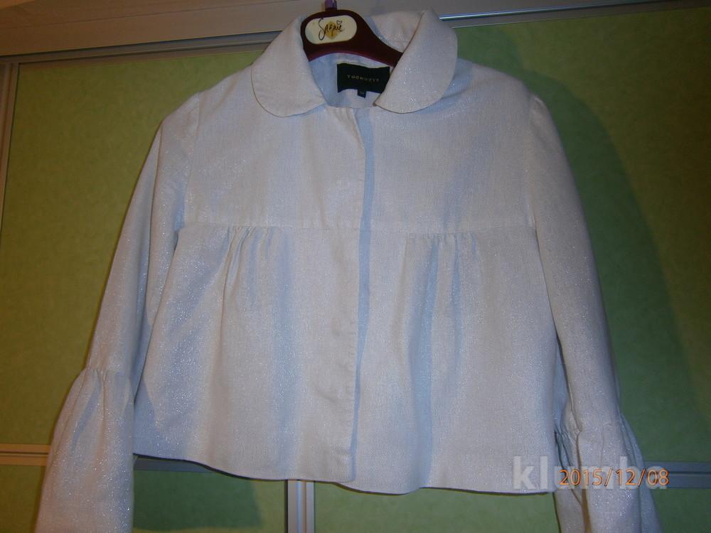 красивый пиджак. праздничный. 14 евро размер, на наш 46-50р. фото №1