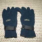 Перчатки рукавиці теплі флісові