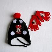Фирменные перчатки для девочки 5-8 лет