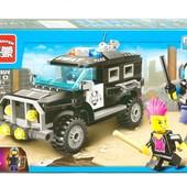 Конструктор Brick 1110 полиция, полицейский джип