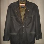 "куртка пиджак кожаная ""Peter Hahn""размер 58-60"