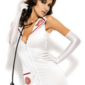 Emergency dress Obsessive костюм медсестры для игривых женщин