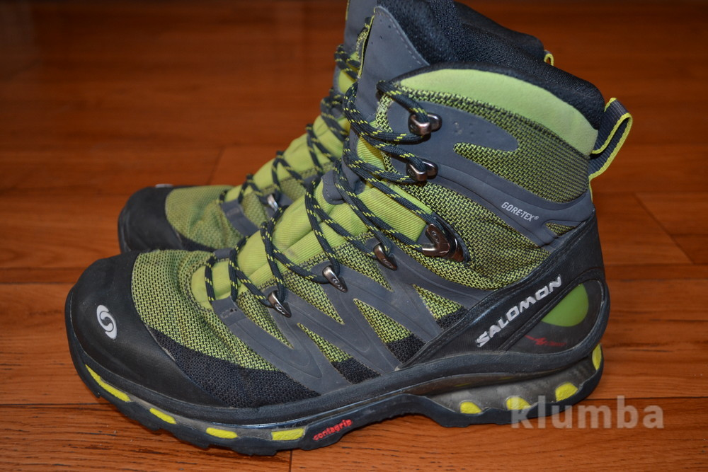 Ботинки salomon cosmic 4d gtx, eu44 фото №1