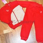 Костюм спортивный для девочки с начесом 713 р.104-110 Тм Фламинго текстиль (отличное качество!!!)