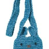 Темно-синяя сумка в виде мышки 290 грн