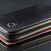 Мужской клатч Apple тёмно-коричневый (черный шоколад) кошелёк барсетка сумка