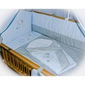 Детский спальный комплект в кроватку и Конверт на выписку