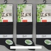 Носки мужские бамбук с лайкрой Z&N, без шва, антибактериальные, 40-44 р.