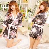 Халат-кимоно / Эротическое белье / Сексуальное белье / Еротична сексуальна білизна
