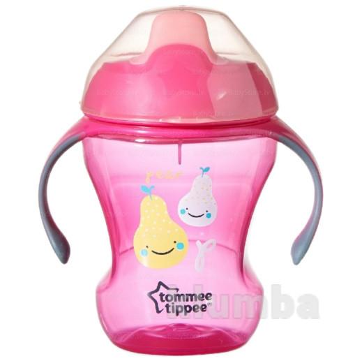 Чашка-непроливайка 'pear' tommee tippee 44701097 великобритания розовый 20213686_p фото №1