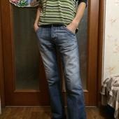 Качественные джинсы на худого парня размер 38