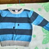 Хлопковый свитерок  Name It  для мальчика 5 -6 лет ( 116)