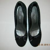 Туфли замшевые new look