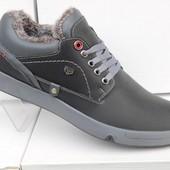 Акция - Ботинки зимние + туфли+мокасины размер 42