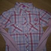 Рубашка (кофта) на рост 122-128 см.