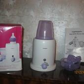 Продам  Подогреватель-стерилизатор для бутылочек с соковыжималкой Topcom KF-4301 (301)