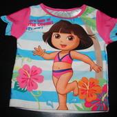 футболка для моря Даша путешественница 2 года состояние новой