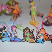 Заколки Winx и Monsterhigh