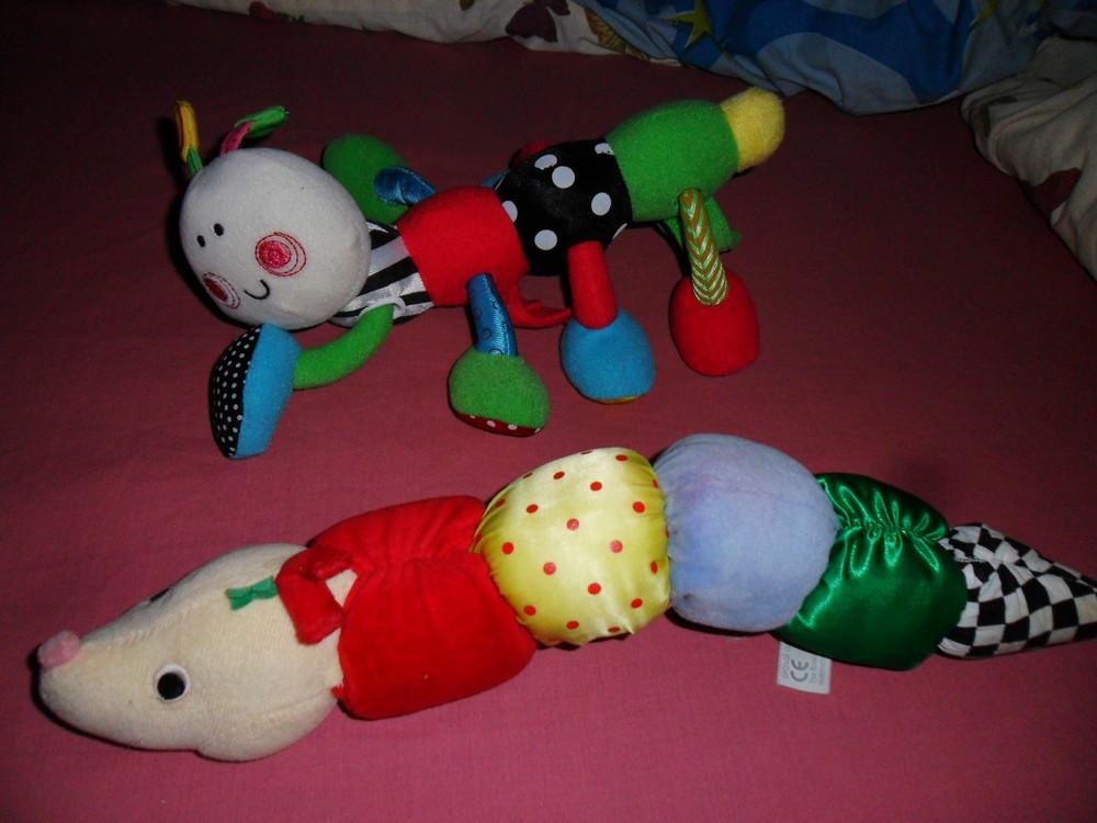 Продам гусенички - погремушки . фото №1