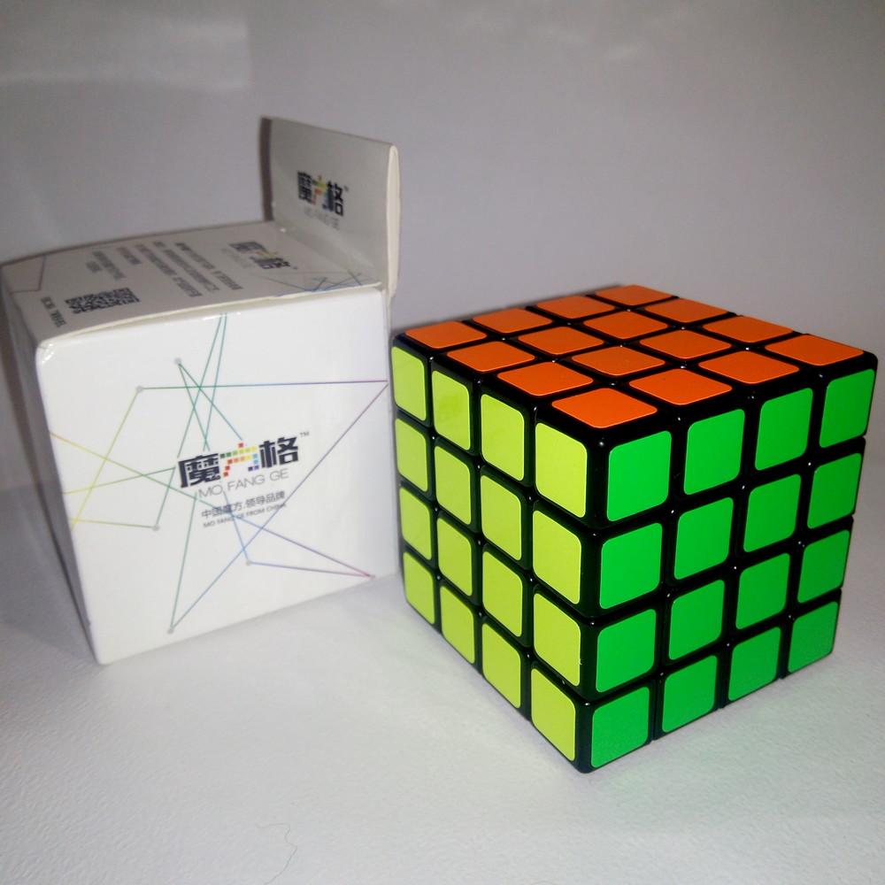 Головоломка кубик рубика 4х4 qiyi mofange sail black фото №1