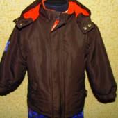 Распродажа.Куртка Papagino на 2-3 года,рост 92-98 см.Мега выбор обуви и одежды