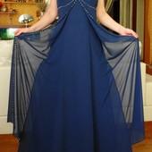 США. Шифоновое платье для подружки невесты.