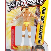 Бойцы hook throwin Титаны реслинга  трюком Alberto Del Rio от Mattel