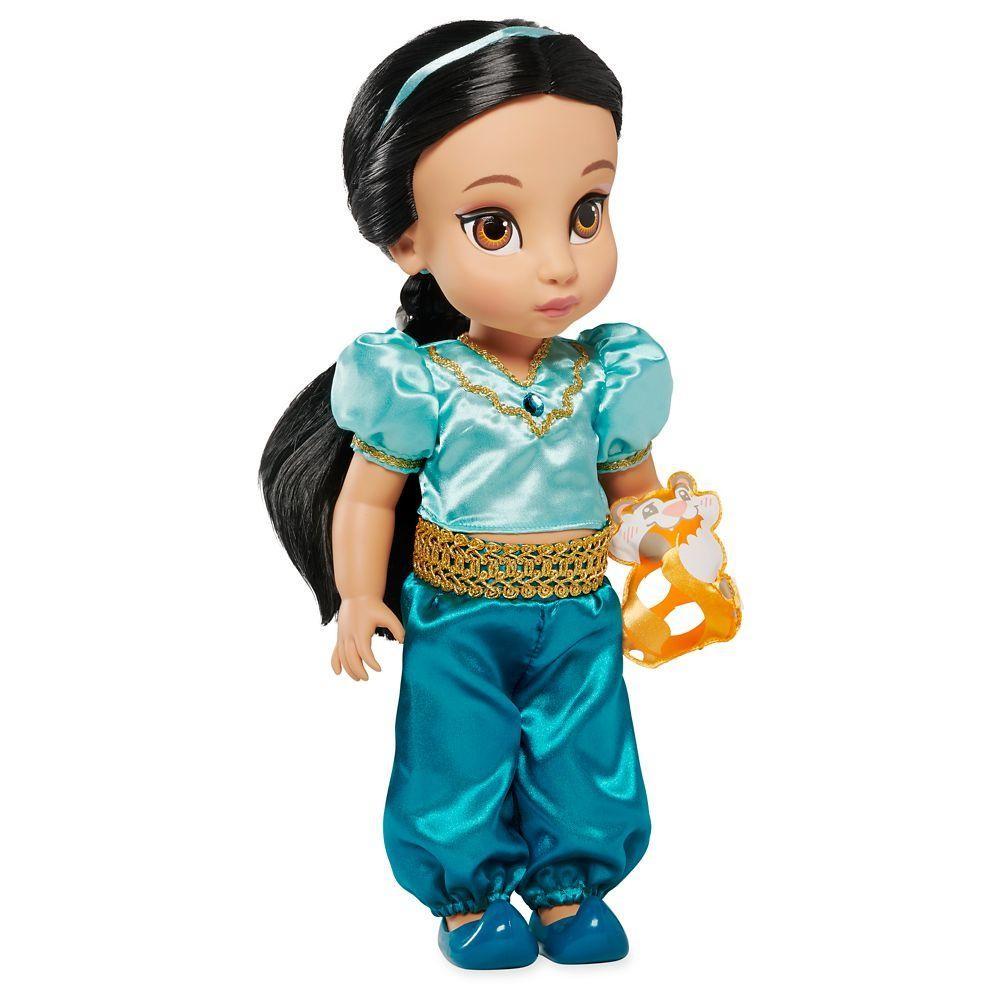 Кукла принцесса малышка-жасмин disney animators фото №1
