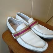 Туфли мужские кожаные фирмы Zara 40 р