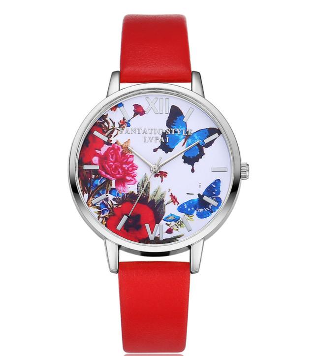 Наручные женские часы Бабочки код 297 фото №1