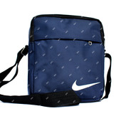 Спортивная синяя мужская сумка в стиле Nіке