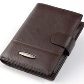 Мужской кожаный кошелек портмоне правник Tailian под документы