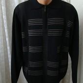 Свитер мужской шерсть бренд Dynasty р.50-52 №4949