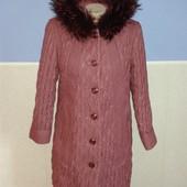 Куртка на холлофайбере, длинная р. M-L